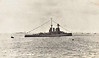 1924 - July 26th - SPITHEAD REVIEW - TIGER - Tiger Class Battlecruiser - 36000 tons - 214.6 x 27.6 - 1914 John Brown & Co., Clydebank - 8x13.5in., 12x6in., 2x3in.AA, 4TT - 28 knots - 10/14 Ist Battlecruiser Sqdn., Home Fleet, 23/01/15 Battle of Dogger Bank, took 6 hits, scored only 2 hits with 355 shells fired, 31/05/16 Battle of Jutland, took 18 hits, 24 dead, scored 3 hits with 303 shells, 17/11/17 Second Battle of Heligoland Bight, 02/24 Training Ship, 05/31 decommissioned, 02/32 sold for breaking - seen here at Spithead Review, July 26th, 1924.
