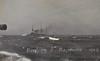 1909 - July - KING EDWARD VII Class Battleships in rough weather during Fleet Manoeuvres.