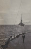 1909 - July - KING EDWARD VII Class Battleships in Single Line Ahead during Fleet Maneouvres.