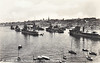 3rd DESTROYER FLOTILLA - seen here in the early 1930's, at anchor in Valletta, Malta, 'A' Class Destroyers and their Light Cruiser leader. Nearest ship in the left hand column is HMS ACASTA (H09), HMS ACTIVE (H14) moored to her right,