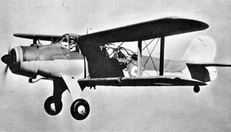 """1939 to 1944 - FAIREY ALBACORE - The Fairey Albacore was a British single-engine carrier-borne biplane torpedo bomber built between 1939 and 1943 for the Royal Navy Fleet Air Arm. It had a three-man crew and was designed for spotting and reconnaissance as well as level bombing, dive bombing and as a torpedo bomber. The Albacore, popularly known as the """"Applecore"""", was conceived as a replacement for the aging Fairey Swordfish, which had entered service in 1936. However, the 800 Albacore's served with the Swordfish and was retired before it, being replaced by 1944 by the Fairey Barracuda and Grumman Avenger monoplane torpedo bombers, remaining aircraft being reduced to training and communications duties."""
