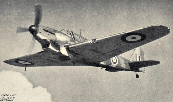 1940 to 1945 - FAIREY FULMAR I - Fleet Defence Fighter/Light Bomber - 600 of these aircraft were built for the FAA from 1940, developed from the Fairey Battle. As it was not expected to encounter fighter opposition, speed and manoeuvrability were considered secondary to range and weight of armament. Relegated from fighter duties in 1942 after the introduction of more modern, single seater, land based aircraft, the Fulmar still found use in the convoy protection/reconnaisance/bombing role until February 1945.