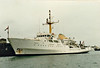 1968 to 2001 - BULLDOG (A317) - Bulldog Class Survey Ship - 1105 tons - 57.6 x 11.9 - 1968 Brooke Marine, Lowestoft, No.358 - 15 knots - 2001 sold for conversion to luxury yacht, renamed ALYSSA M II, 2012 broken up.