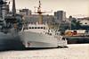 1968 to 1989 - FOX (A320) - Bulldog Class Survey Ship - 1105 tons - 57.6 x 11.9 - 1968 Brooke Marine, Lowestoft - 15 knots - 03/89 sold for commercial use, renamed H.V.FOX, 1998 PLUS ULTRA, 2010 H.V.FOX (CKI) - still in service