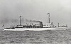 1919 to 1945 - KELLETT (J06) - Hunt Class Minesweeper - 710 tons - 70.0 x 8.5 - 1919 Simons Lobnitz & Co., Renfrew as UPPINGHAM - 1x4in. - 16 knots  - 1919 completed as Survey Ship - 1939 reconverted to Minesweeper, 05/40 Operation Dynamo, 03/45 damaged by mine, sold for breaking.