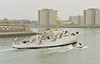 1968 to 1989 - FOX (A320) - Bulldog Class Survey Ship - 1105 tons - 57.6 x 11.9 - 1968 Brooke Marine, Lowestoft - 15 knots - 03/89 sold for commercial use, renamed H.V.FOX, 1998 PLUS ULTRA, 2010 H.V.FOX (CKI) - still in service - seen here in 02/89.