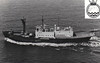 1967 to 1991 - ENDURANCE (A171) - Ice Patrol Vessel - 2641GRT/3225DWT - 93.6 x 14.0 - 1956 Krogerwerft, Rendsburg, No.1080 as ANITA DAN (1956-67) - 2x20mm, 2 h/c - 14.5 knots - 1967 converted by Harland & Wolff, Belfast - 03/82 South Georgia, 25/04/82 h/c's attacked, damaged and forced abandonment of Argentine submarine SANTA FE, 1989 damaged by iceberg, not fit for ice service, 1991 decommisioned.