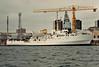 1968 to 2002 - BEAGLE (A319) - Bulldog Class Survey Ship - 1105 tons - 57.6 x 11.9 - 1968 Brooke Marine, Lowestoft, No.359 - 15 knots - 2002 decommissioned, converted to luxury yacht TITAN.