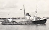 1942 to 1965 - PROSPEROUS (W96) - Assurance Class Tug - 700 tons - 47.8 x 10.1 - 1942 Cochrane & Sons, Selby, No.1251 - 1965 sold commercial, renamed EYFORIA, 1968 CAPTAIN SPYROMILIOS - 08/80 broken up at Eleusis.