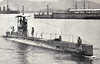 1910 to 1919 - C37 - C Class Submarine - 295 tons, 325 dived - 43.6 x 4.1 - 1910 Vickers Shipbuilding, Barrow - 2TT - 13 knots, 8 dived - 02/11 to Hong Kong, 06/19 sold for breaking at Hong Kong.