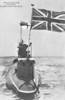 1914 to 1918 - E8 - E Class Submarine - 676 tons, 809 dived - 54.0 x 4.7 - 1914 Chatham Dockyard - 4TT - 15 knots, 9.5 dived - 23/10/15 torpedoed and sank German cruiser PRINZ ADALBERT 20nm west of Libau., 04/04/18 scuttled off Harmaja Light, Gulf of Finland, to avoid capture by Germans.