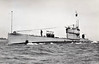 1918 to 1946 - L23 - L9 Class Submarine - 904 tons, 1091 dived - 69.0 x 7.2 - 1918 Vickers Ltd., Barrow - 1x4in., 4TT - 17 knots, 10.5 dived - 05/46 sank in tow off Nova Scotia on passage to breakers - seen here in 06/38.