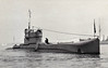 1919 to 1939 - L54 - L50 Class Submarine - 975 tons, 1168 dived - 70.3 x 7.2 - 1919 W Denny & Sons, Dumbarton - 2x4in., 6TT - 17.5 knots, 10.5 dived - 02/39 sold for breaking - seen here in 05/37.
