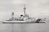 1936 to 1985 - DUANE (WHEC-33) - Treasury Class Coast Guard Cutter - 2700 tons - 100.0 x 12.0 - 1936 Philadelphia Navy Shipyard - 1x5in., 2TT - 21 knots - 1941 to 1945 Atlantic Convoy escort duty, 1967 to 1975 Vietnam, 08/85 decommisioned, 11/87 sunk as artificial reef of Key Largo, Florida.