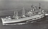 1943 to 1958 - VIRGO (AKA20) - Andromeda Class Attack Cargo Ship (Type C2-S-B1) - 13910 tons - 140.0 x 19.2 - 1943 Federal Shipbuilding & Drydock Corpn., Kearny, NJ - 1x5in., 4x3in, 18x20mm - 16 knots - 11/43 Gilbert Islands, 01/44 Marshall Islands, 07/44 Marianas, 09/44 Palau, 02/45 Iwo Jima, 05/45 Okinawa, 09/50 Korea, 03/51 to 05/53 Korea, 04/58 decommisioned, 08/66 recommisioned as VIRGO (AE30), 02/71 decommisioned, 11/73 sold for breaking.
