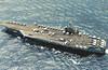 1986 to DATE - THEODORE ROOSEVELT (CV71) - Nimitz Class Nuclear Aircrsft Carrier - 104200 tons - 332.8 x 40.8 - 1986 Newport News Naval Shipyard, VA - 3xSea Sparrow, 3x30mmCIWS, 90a/c - 30 knots - still in service.