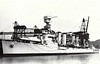 1923 to 1945 - OMAHA (CL4) - Omaha Class Light Cruiser - 7050 tons - 169.6 x 16.9 - 1923 Todd Shipbuilding Corpn., Tacoma, WA - 12x6in, 2x3in., 10TT - 35 knots - 1941 to 1945 Atlantic Patrols, 05/45 decommisioned, 02/46 broken up - seen here in 1937.
