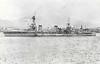 1929 to 1946 - SALT LAKE CITY (CA25) - Pensacola Class Heavy Cruiser - 9200 tons - 178.5 x 19.9 - 1930 New York Navy Yard, Camden, NJ - 10x8in., 4x5in., 6TT, 4 a/c - 33 knots - 12/41 Wake Island, 08/04/42 Battle of the Coral Sea, then Guadalcanal, 11/10/42 Battle of Cape Esperance, damaged, 26/03/43 Battle of the Komandorski Islands, badly damaged, 11/43 Gilberts, 02/44 Marshalls, 10/44 Battle of the Philppine Sea, 02/45 Iwo Jima, 05/45 Okinawa, 07/46 Bikini Atoll Atom bomb Tests, 08/46 decommisioned, 05/48 sunk as a target.