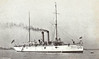 1903 to 1929 - CLEVELAND (C19) - Denver Class Protected Cruiser - 3200 tons - 94.1 x 13.0 - 1903 Bath Iron Works, Bath, ME - 10x5in. - 16 knots - 11/03 Caribbean, 08/07 Philippines, 1912 Mexico/Central America, 06/17 Atlantic Convoy Escort duties, 02/20 Pacific Fleet, 11/29 decommisioned, 03/30 sold for breaking.