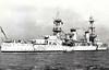 1930 to 1946 - PENSACOLA (CA24) - Pensacola Class Heavy Cruiser - 9200 tons - 178.5 x 19.9 - 1930 New York Navy Yard, Camden, NJ - 10x8in., 4x5in., 6TT, 4 a/c - 33 knots - 30/11/42 Battle of Tassafaronga, badly damaged, 125 dead, 01/44 Marshall Islands, 03/44 Caroline Islands, 10/44 Leyte, 02/45 damaged at Iwo Jima, 17 dead, 04/45 Okinawa, 05/46 Bikini atom bomb tests, 08/46 decommisioned, 11/48 sunk as a target.