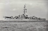 1945 to 1958 - RIZZI - John C Butler Class Destroyer Escort - 1745 tons - 93.3 x 11.3 - 1945 Boston Navy Yard, Boston, MA - 1x5in., 4x40mm, 10x20mm - 24 knots - 02/58 decommisioned, 02/74 sold for breaking.