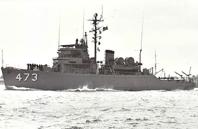1954 to 1972 - VIGOR (MSO473) - Aggressive Class Minesweeper - 775 tons - 52.4 x 10.7 - 1954 Burger Boat Co., Manitowoc, WI - 04/72 decommisioned, to Spain as GUADIANA (M44), 11/99 decommisioned and sold for breaking.