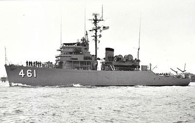 1955 to 1977 - OBSERVER (MSO461) - Aggressive Class Minesweeper - 775 tons - 52.4 x 10.7 - 1955 Higgins Inc., New Orleans, LA - 09/77 decommisioned, 04/79 sold for breaking.