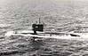 1959 to 1989 - BARBEL (SS580) - Barbel Class Submarine - 2140 tons, 2639 dived - 66.9 x 8.8 - 1959 Portsmouth Navy Yard, NH - 6TT - 15 knots, 21 dived - 12/89 decommisioned, 01/90 sunk as target.