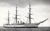 1898 to 1961 - PRESIDENTE SARMIENTO - Training Ship - 2750 tons - 80.8 x 13.1 - 1898 Laird Bros., Birkenhead - made 37 training cruises between 1898 and 1937, including 6 circumnavigations, 1938 stationary training ship, 1961 decommisioned, museum ship in Buenos Aires.