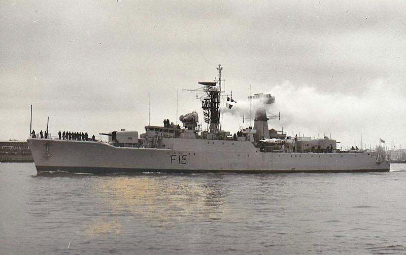 1982 to DATE - ABU BAKR (F15) - Ex-RN Leopard Class Type 41 Frigate - 2520 tons - 103.6 x 12.2 - 1957 John Brown & Co., Clydebank as HMS LYNX (F27) - 03/82 to Bangladesh as ABU BAKR (F15) - still in service.