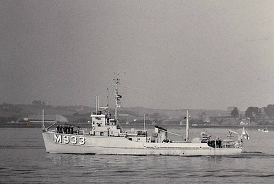 1956 to 1992 - KOKSIJDE (M933) - Type 60 Minesweeper - 390 tons - 44.0 x 8.5 - 1956 Beliard Werf, Ostende - 1x40mm - 13.5 knots - 1991 decommisioned.