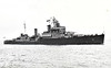 1944 to 1956 - QUEBEC (31) - Crown Colony Class Light Cruiser - 10450 tons - 169.3 x 18.3 - 1943 Vickers Armstrong. Low Walker - 12x6in., 8x4in., 8x40mm., 12x40mm PomPom, 12x20mm, 6TT - 33 knots  - 01/43 commissioned as HMS UGANDA (C66), 13/09/43 hit and badly damaged by glider bomb off Salerno, 10/44 transferred to RCN, to British Pacific Fleet. 4th Cruiser Sqdn, 04/45 Iwo Jima, 05/45 RCH withdrew from hostilities, 08/47 to Reserve, 01/52 recommissioned as QUEBEC for Korean War, 06/56 decommissioned, 1961 sold for breaking.