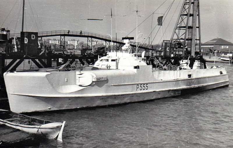 1949 to 1957 - HOGEN (P555) - Ex-German Class S139 Torpedo Boat - 122 tons - 34.9 x 5.3 - 1944 Schiffs Lurssen, Vegesack, as S206 (1944-47) - 1x40mm, 3x20mm, 2TT - 41 knots - 05/45 surrendered, allocated to USA, 07/47 to Denmark as T55, 03/49 commisioned into Danish Navy as HOGEN (P555), 04/57 decommisioned.