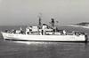 1963 to 2000 - FALSTER (N80) - Falster Class Minelayer - 1991 tons - 76.9 x 12.8 - 1963 Nakskov Shipyard Ltd. - 4x76mm, 4x20mm, 400 mines - 17 knots - 2000 decommisioned.