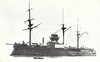 1878 to 1910 - REDOUBTABLE - Central Battery Ironclad - 9430 tons - 100.7 x 19.8 - 1878 Lorient Navy Yard - 7x10in., 6x5.5in, 4TT - 14.5 knots - 1878 Mediterranean, 1900 China, 03/10 decommisioned, 1912 broken up at Saigon.