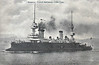 1898 to 1915 - MASSENA - Pre-Dreadnought Battleship - 11735 tons - 112.7 x 20.3 - 1898 Ateliers et Chantiers de la Loire Shipyard - 2x12in., 2x10.8in., 8x5.5in, 8x3.9in., 4TT - 17 knots - 1898 Northern Sqdn, 1903 Mediterranean Sqdn., 1908 to Reserve, 1915 hulked at Toulon, 09/11/15 sunk as a breakwater at Gallipoli - posted August 14th, 1905.