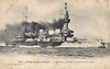 1896 to 1919 - BRENNUS - Pre-Dreadnought Battleship - 11190 tons - 110.3 x 20.4 - 1896 Arsenal de Lorient - 3x13.5in., 10x6.5in, 4TT - 18 knots - first French Pre-Dreadnought - 10/08/00 rammed and sank destroyer FRAMEE off Cape St Vincent, saw no action in War, 1919 decommisioned, 1922 sold for breaking.