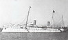 1893 to 1914 - HOHENZOLLERN - Royal Yacht/Auxiliary Cruiser - 4200 tons - 120.0 x 14.0 - 1893 AG Vulkan, Stettin - 2x52mm - 21 knots - 1907 extensively refitted and modernised, 07/14 laid up au Kiel, 1918 to Weimar Republic, 1920 decommisioned, 1923 broken up - posted September 17th, 1904.
