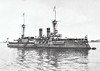 1894 to 1910 - WEISSENBURG - Brandenburg Class Battleship - 10500 tons - 116.0 x 20.0 - 1894 AG Vulkan, Stettin - 6x280mm, 8x105mm, 8x88mm, 3TT - 17 knots - 1900 Boxer Rebellion, 1902 to 1904 refit, 09/10 sold to Turkey as TURGUT REIS, 1912 Balkan War, 1924 Training Ship, 1938 hulked as Accommodation Ship, 1956 broken up.