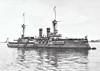 1894 to 1910 - WEISSENBURG - Brandenburg Class Battleship - 10500 tons - 116.0 x 20.0 - 1894 AG Vulkan, Stettin - 6x280mm, 8x105mm, 8x88mm, 3TT - 17 knots - 1900 Boxer Rebellion, 1902 to 1904 refit, 09/10 sold to Turkey as TURGUT REIS, 1912 Balkan War, 1924 Training Ship, 1938 hulked as Accommodation Ship, 1956 broken up.