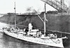1895 to 1917 - GEIER - Bussard Class Cruiser - 1868 tons - 82.6 x 12.5 - 1895 Imperial Dockyard, Wilhelmshaven - 8x105mm, 2TT - 15 knots - 1897 Caribbean, 1912 Mediterranean, 0814 East Asiatic Sqdn, 08/11/14 interned at Honolulu, 04/17 captured by US Navy, renamed USS SCHURZ, 10/17 to US East Coast via Panama Canal, Patrol Duties, 21/09/18 rammed and sunk by SS FLORIDA off Cape Lookout.