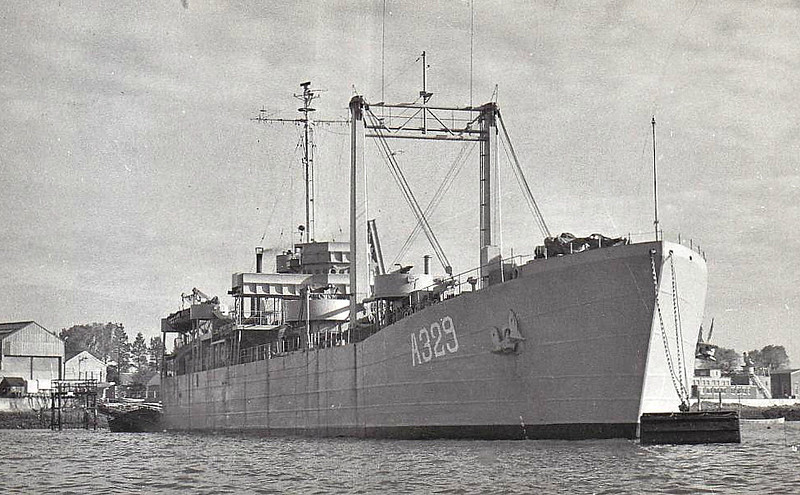 1960 to ???? - SAKIPIS (A329) - Ex-US Navy LST1 Class Tank Landing Ship - 3800 tons - 100.0 x 15.2 - 1943 Dravo Corpn, Pittsburgh, PA as LST50 - 8x40mm, 12x20mm - 12 knots - 06/44 Operation Neptune, 08/44 Invasion of Southern France, 06/45 Okinawa, 11/52 to Norway as ELLIDA (A534), 09/60 to Greece as SAKIPIS (A329) - decommisioned by 1973.