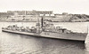 1949 to 1979 - RANJIT (D141) - Ex-RN R Class Destroyer - 1692 tons - 109.2 x 10.9 - 1942 John Brown & Co., Clydebank - 4x4.7in., 1x4 40mm, 6x20mm, 8TT - 36 knots - 10/42 commisioned as HMS REDOUBT (H41), 11th Destroyer Flotilla, Northwestern Approaches, 11/42 Operation Torch, 30/11/42 intercepted Italian blockade runner CORTELLAZZO, scuttled, 12/42 to USA as escort to HMS VICTORIOUS, 01/02/43 collided with whale in Atlantic, badly damaged, repairs at Gibraltar, 07/43 Eastern Fleet, 09/45 to Reserve in UK, 1948 refit, 1949 to India as RANJIT (D141), 1979 decommisioned.