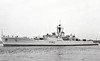 1959 to 1992 - TALWAR (F140) - Whitby Class Type 12 Frigate - 2600 tons - 112.8 x 12.5 - 1959 Cammell Laird & Co., Birkenhead - 1x4.5in., 3x40mm, LIMBO ASM, 12TT - 30 knots - 1992 decommissioned and broken up.