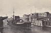1908 to 1926 - NAPOLI - Regina Elena Class Battleship - 12833 tons - 144.6 x 22.4 - 1908 Arsenale di Castellamare di Stabia - 2x305mm, 6x203mm, 24x76mm, 2x47mm, 2TT - 22 knots - 1911/12 Italo-Turkish War, 1915/18 Great War, 09/26 sold for breaking - seen here at Taranto after removal of foremast.