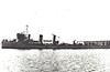 1916 to 1958 - GIACINTO CARINI - La Masa Class Destroyer - 845 tons - 72.6 x 7.3 - 1916 Cantieri Odero - 4x4in., 2x3in.AA, 4TT - 33 knots - 1940 10th Torpedo Boat Sqdn., Tyrrenhian Sea, 1953 converted to Fast Minesweeper (1x105mm, 6x20mm, 5TT), 12/58 broken up - seen here in 1954..