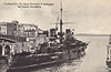 1905 to 1930 - FRANCESCO FERRUCCIO - Garibaldi Class Armoured Cruiser - 7234 tons - 111.8 x 18.3 - 1905 Arsenale di Venezia - 1x254mm, 2x203mm, 14x152mm, 10x76mm, 6x47mm, 4TT - 19 knots - 1924 Training Ship, 1930 sold for breaking.