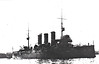 1913 to 1937 - LIBIA - Protected Cruiser - 3701 tons - 103.7 x 14.5 - 1913 Cantieri Ansaldo - 8x4.7in., 3x76mmAA, 2TT - 22 knots - building for Turkey as DRAMA but taken over on the stocks on outbreak of Turko-Italian War in 1911 - 03/37 sold for breaking - seen here in 1913.