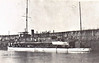 1906 to 1935 - SUMIDA - River Gunboat - 126 tons - 44.2 x 7.6 (0.61m draught) - 1906 Thornycroft & Co., Woolston - 2x47mm - 13 knots - Yangtze River service - 03/35 decommissioned, broken up at Shanghai.