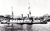 1905 to 1915 - IKI - Imperator Aleksandr II Class Battleship - 9594 tons - 105.6 x 20.4 - 1891 Franco Prussian Shipyard, St Petersburg as IMPERATOR NIKOLAI I - 2x305mm, 4x229mm, 8x152mm, 10x47mm, 8x37mm, 6TT - 14 knots - 1892 USA, 1893 Mediteranean Fleet, 1895 Pacific, 1898 Baltic, 1901 Mediterranean, 1904 3rd Pacific Sqdn., 27/05/05 Battle of Tsushima, captured, 1905 Japanese Navy, renamed IKI, Gunnery Training Ship, 05/15 decommisioned, sunk as gunnery target - seen here in 1906.